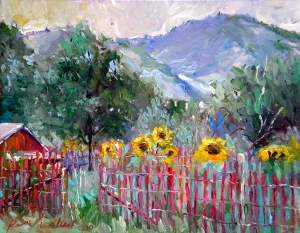 Foothills Sunflowers